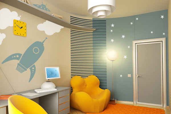 choisir des luminaires pour enfant. Black Bedroom Furniture Sets. Home Design Ideas